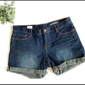 Gap Sexy Boyfriend Denim Shorts Size 12